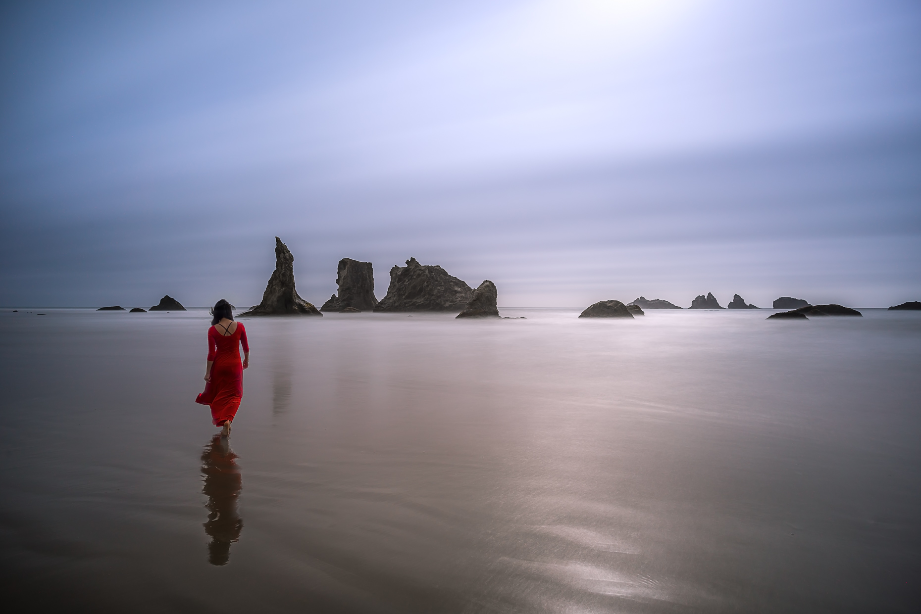 Lady in Red - Bandon